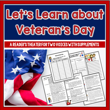 Let's Learn about Veteran's Day Partner Play