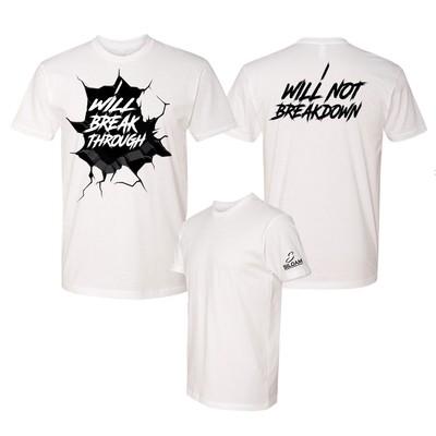 'Breakthrough' T-Shirt White