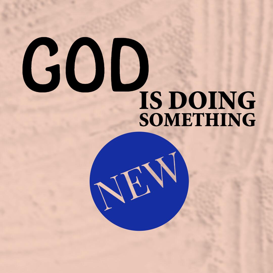 God is Doing Something New [CD/DVD]