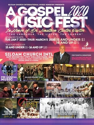 Gospel Music Fest 2020 - Ages 15 and under