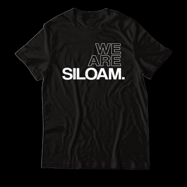 We Are Siloam T-shirt - Black & White