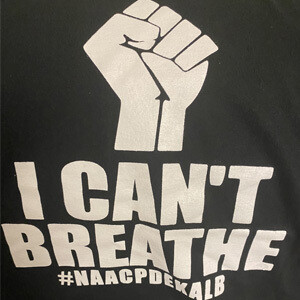 I Can't Breathe T-Shirt