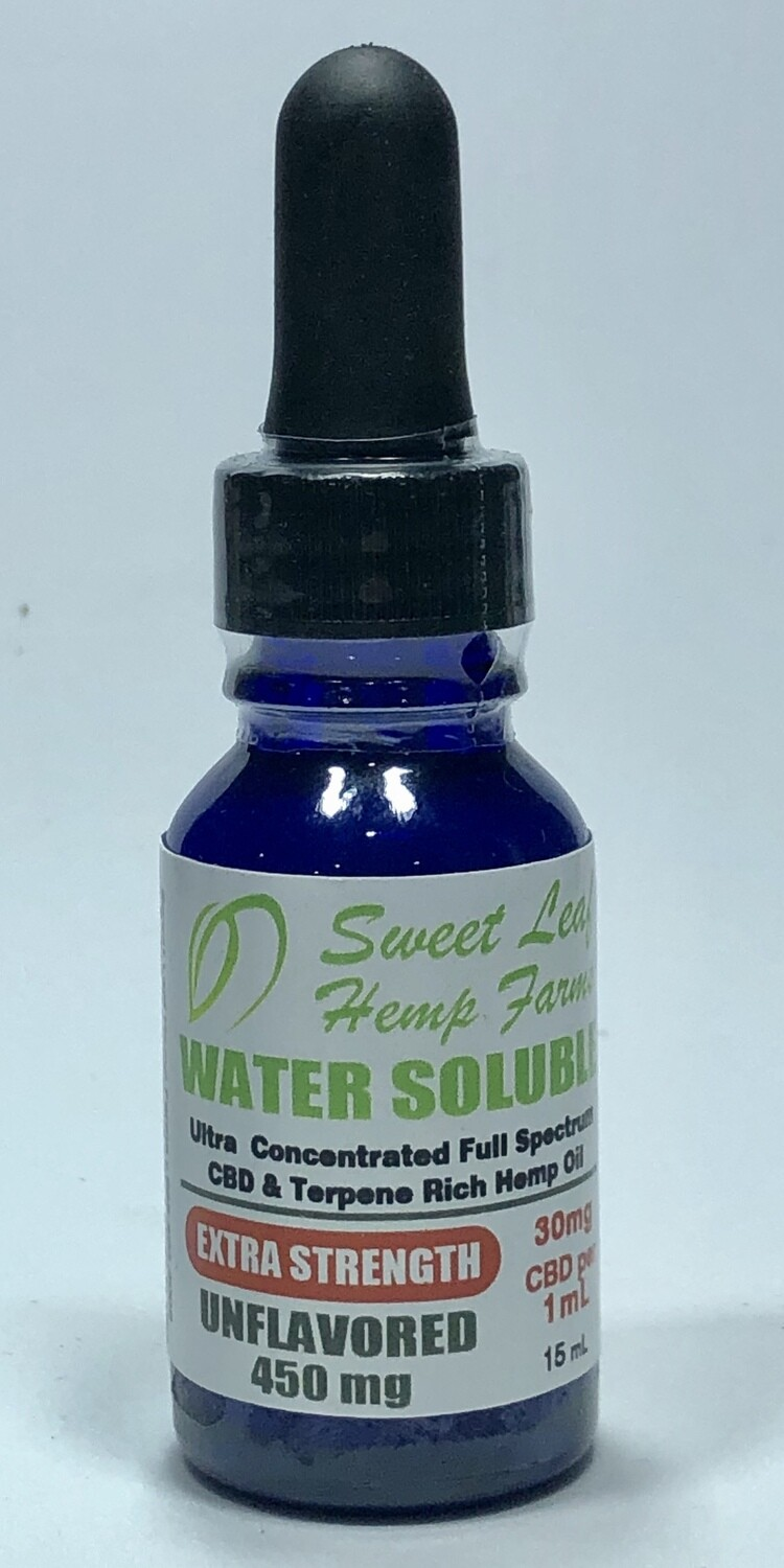 Extra Strength Water Soluble CBD Oil