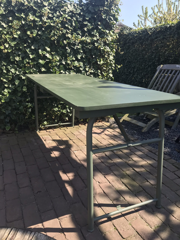 Nieuwe legertafels