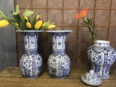 Vazen Delftsblauw