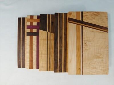 Cutting Board: Straight Line Designs