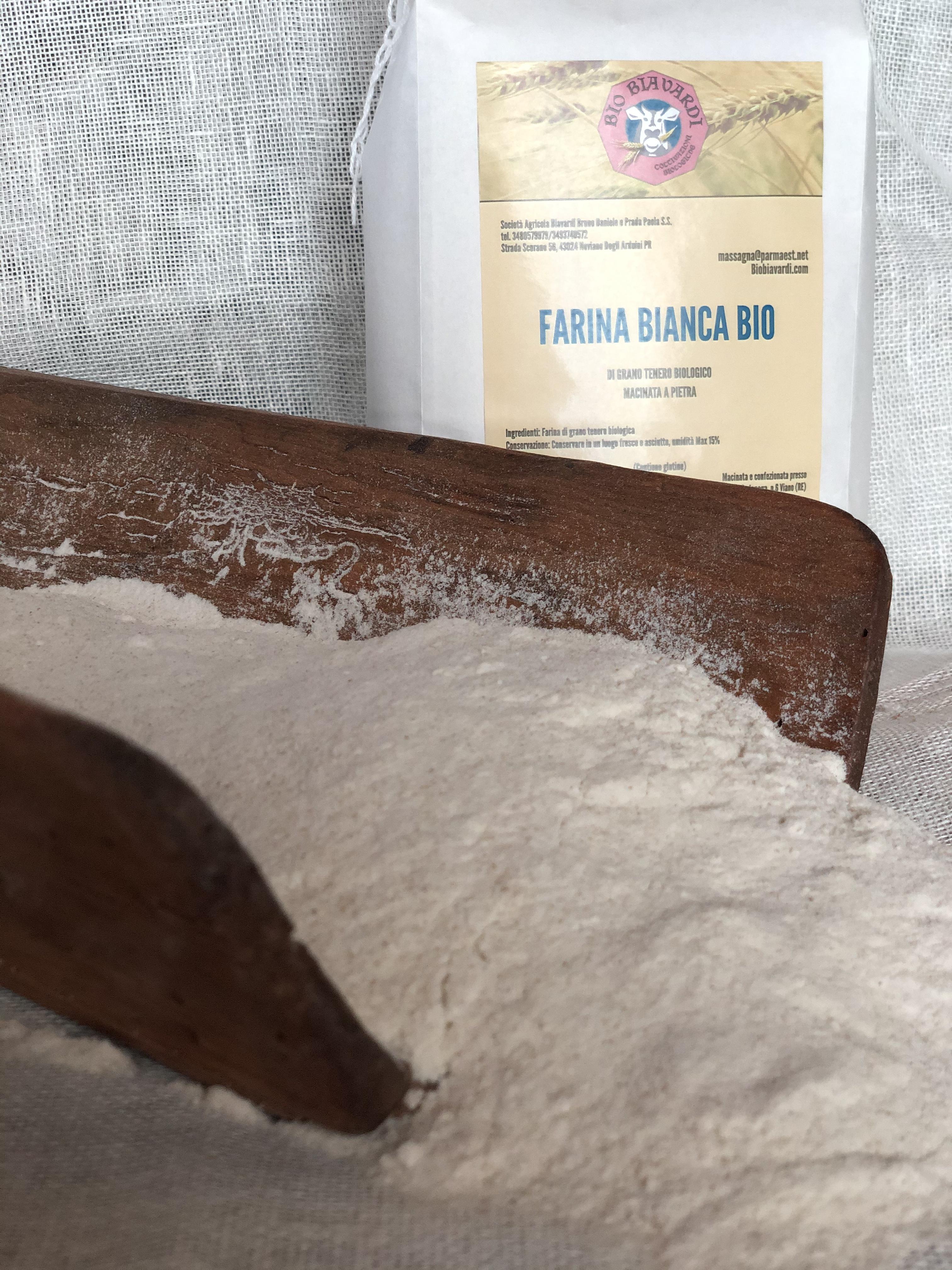 Farina Bianca BIO di grano tenero 1kg