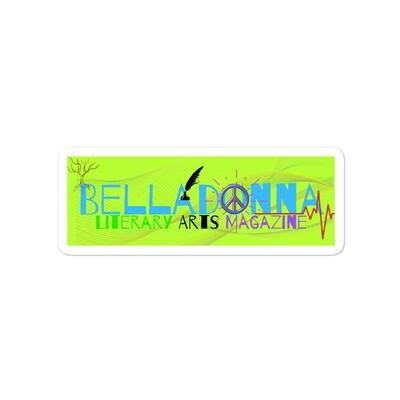 Belladonna Bubble-free stickers