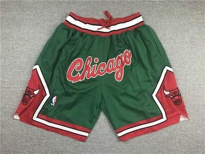 Pantaloncino Chicago Bulls Green