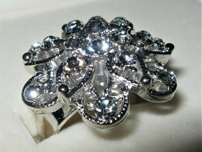 Inspirations Stainless Cluster Ring Heavyweight (sm) - women's