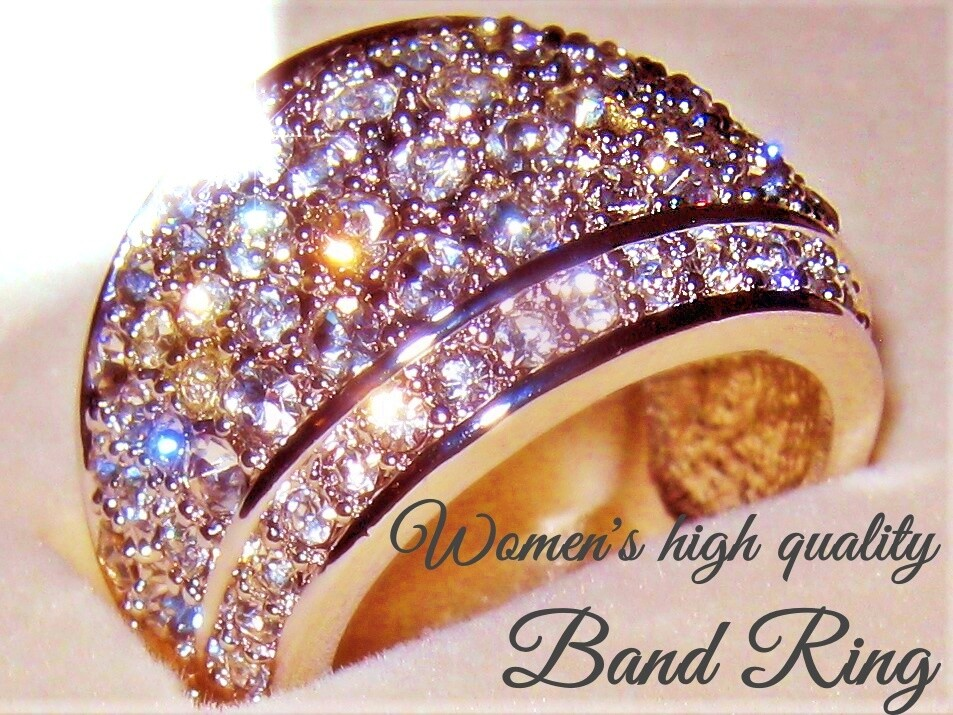 Inspirations Band Ring Stainless Steel Heavyweight (sm) - women's