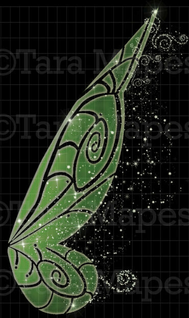 Fairy Wing Overlay - Fairy Wing Overlay - Digital Wings - Glitter Sparkles Fairy Wing
