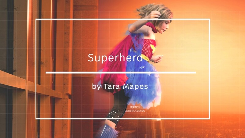 How to Create a Superhero Digital Background in Photoshop Compositing Tutorial by Tara Mapes Enchanted Eye Creations
