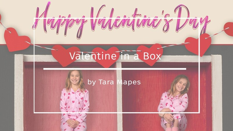 Valentine in a Box Tutorial - How to Shoot and Blend into a Box Template in Photoshop Compositing Tutorial by Tara Mapes Enchanted Eye Creations