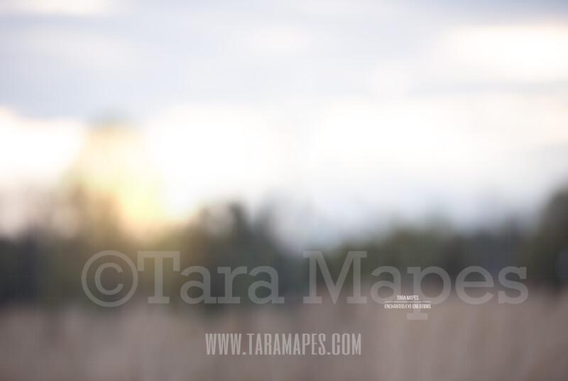 Blurred Field #2  $1 Digital Background Backdrop by Tara Mapes
