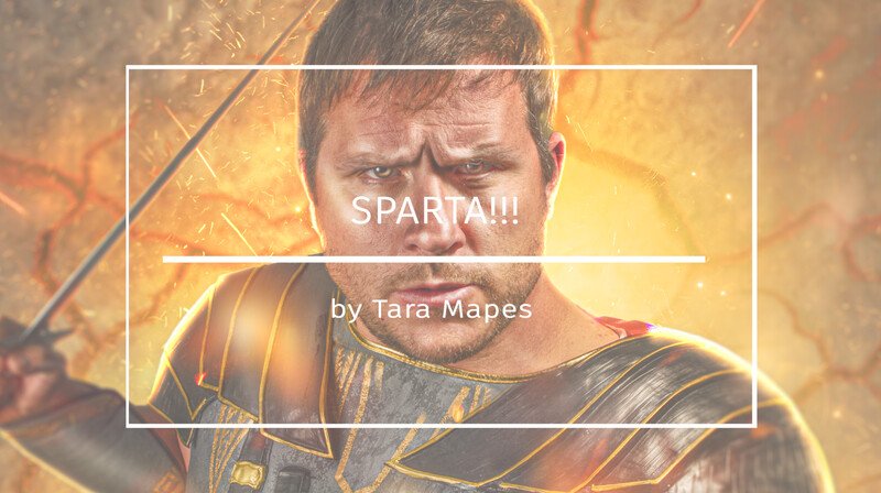 How to Shoot for and Blend Spartan Warrior into Explosion Digital Background - Photoshop Compositing Tutorial by Tara Mapes Enchanted Eye Creations