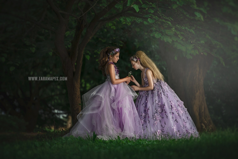 Enchanted Forest - Spring Background - Creamy Background -  Digital Background / Backdrop