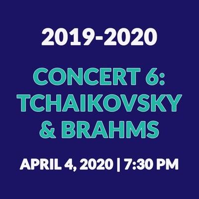 Concert 6 | Tchaikovsky & Brahms