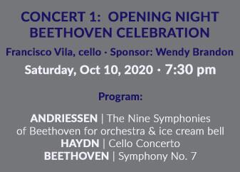 Opening Night: Beethoven Celebration