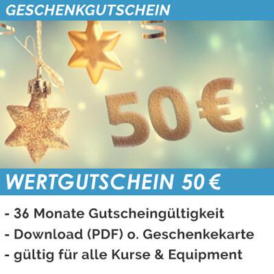 WERTGUTSCHEIN 50 EURO (Mobil)
