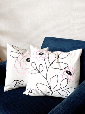 Pair of Pink Cushion Covers