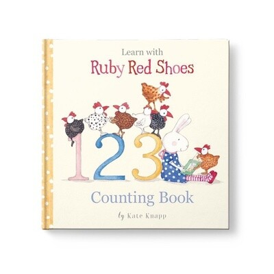 Ruby Red Shoes - Counting Book