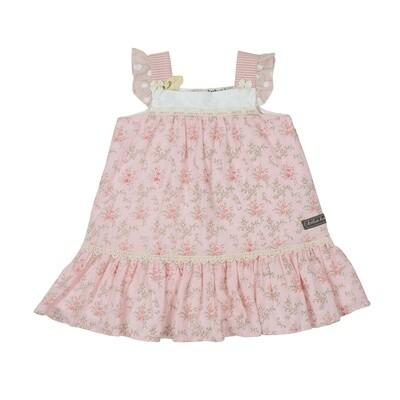 Pretty In Pink Babydoll Dress