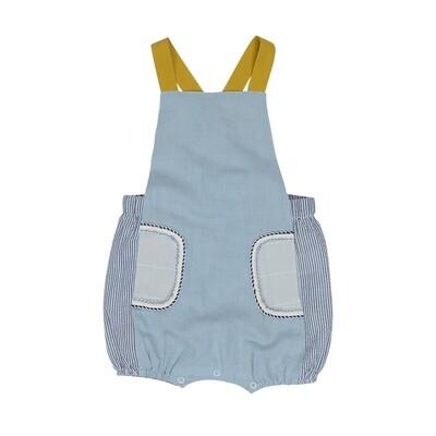 Sunny Day Pocket Overalls