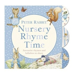 Peter Rabbit Nursery Rhyme Book