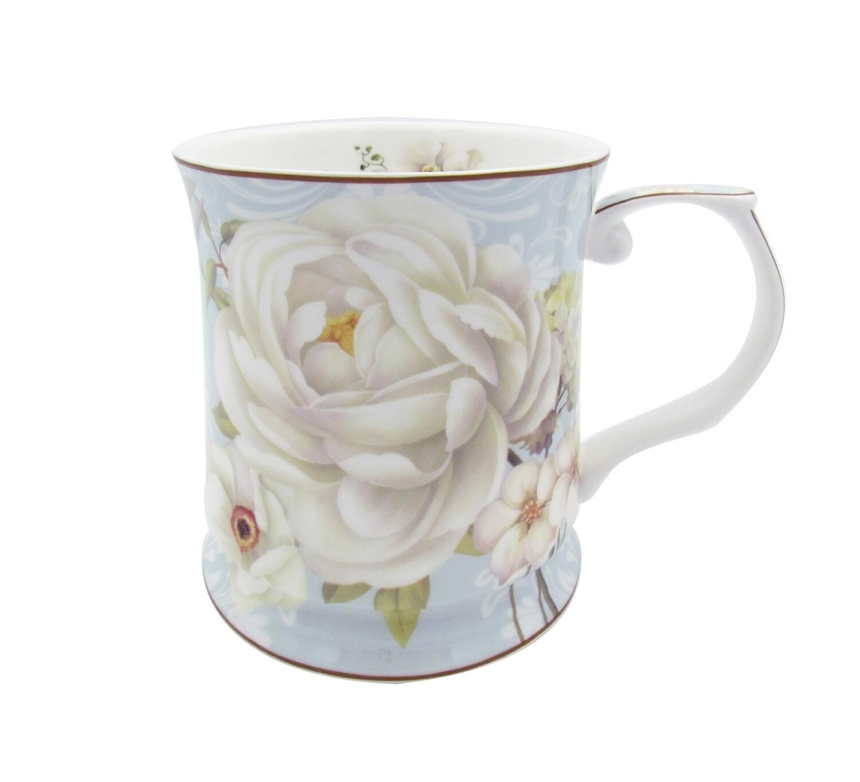White Rose Mug - 415ml