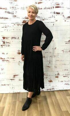 Bloom Dress Black