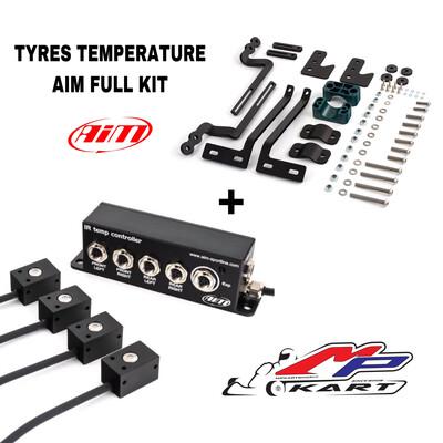 Kit COMPLETO sensori AIM temperatura pneumatici