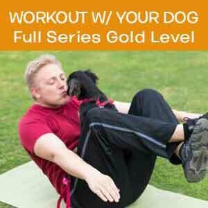 Item 01. Online Workout With Your Dog Full Series Gold Level
