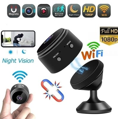 Mini Security Camera with Night Vision A9WIFICAM