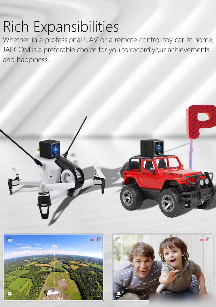 Jakcom CC2 Smart Camera with Night Vision and Motion Recorder