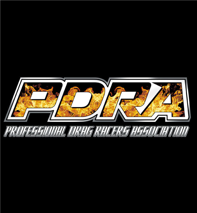 PDRA Flame Logo Design Hooded Sweatshirt