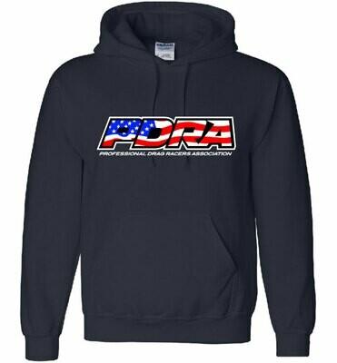PDRA Flag Logo Design Hooded Sweatshirt