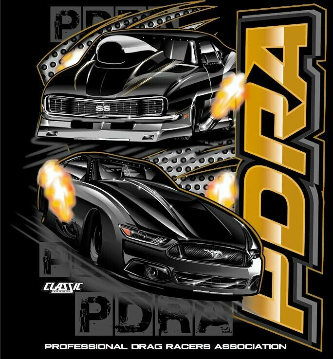 PDRA Gold Design T-shirt