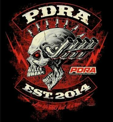 PDRA Skull Design Hooded Sweatshirt