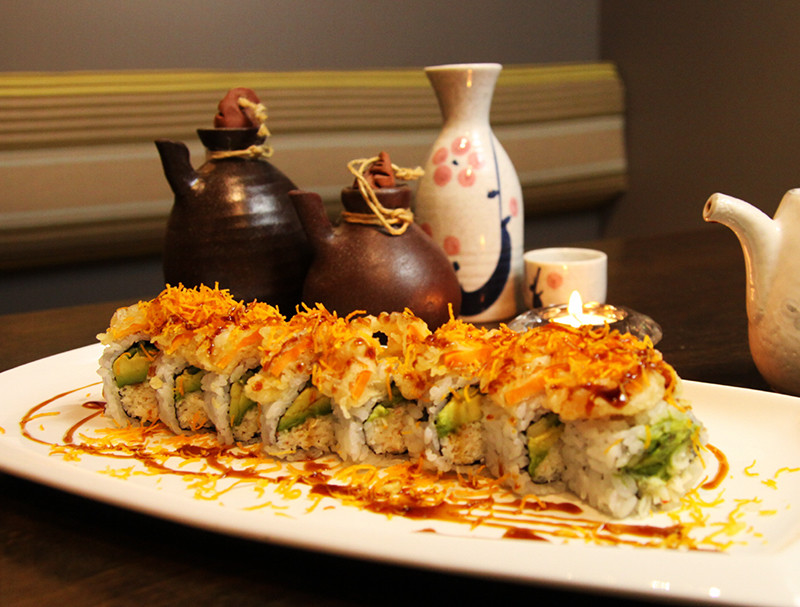 Golden Roll (8 pcs)