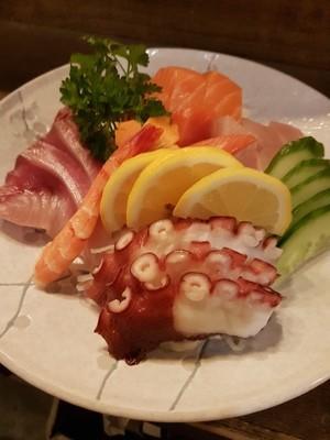 Assorted Sashimi (16 pcs)
