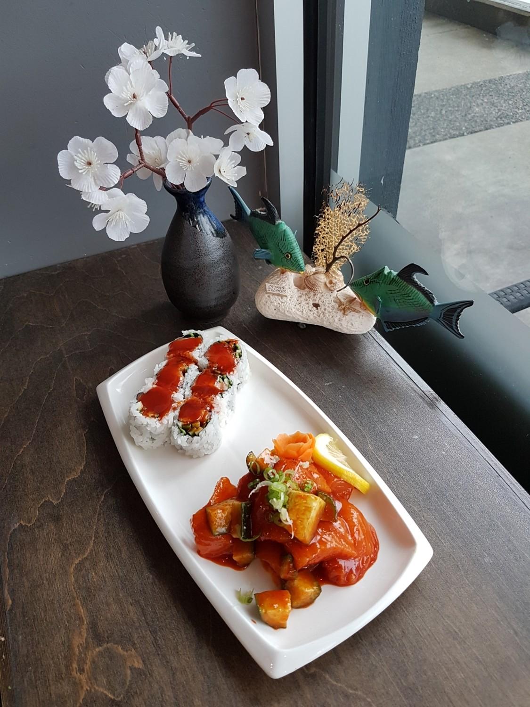 Spicy Salmon Combo