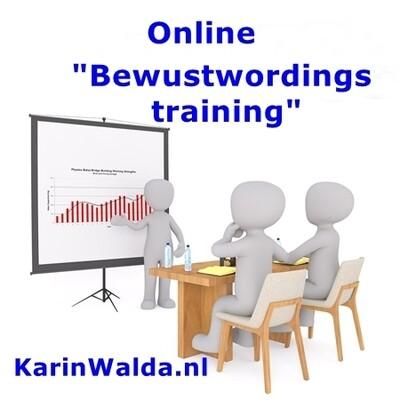 Online Bewustwordingstraining door KarinWalda.nl