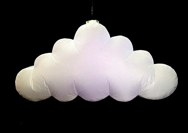 Hanging Inflatable Cloud 6ft/182cm x 3ft/91cm