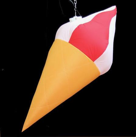 Hanging Inflatable Ice Cream 3.8ft/115cm x 9ft/275cm