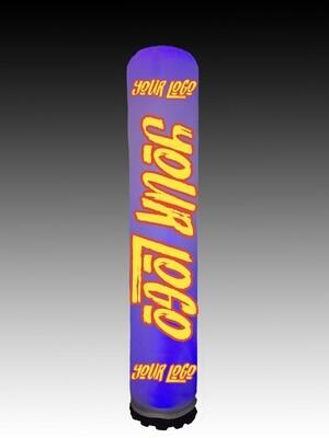 Floor Based Inflatable Column 1.6ft/48cm x 8ft/244cm