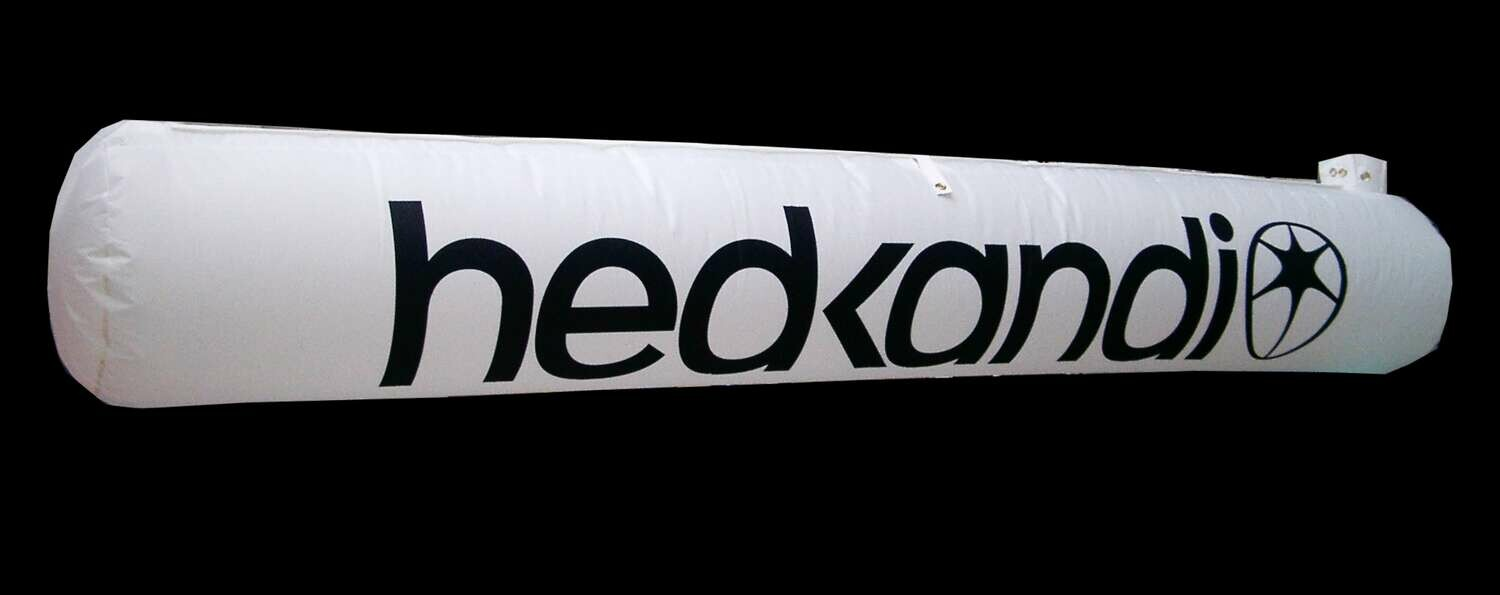 Hanging Inflatable Branded Tube 6ft/182cm x 1.6ft/50cm