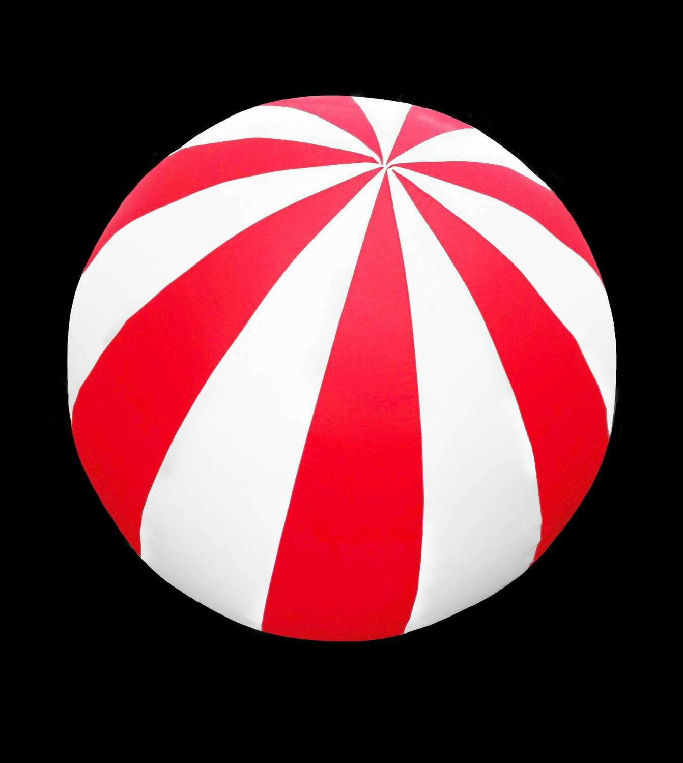 Hanging Inflatable Circus Ball Extra Stripy Spheres 3ft/91cm diameter