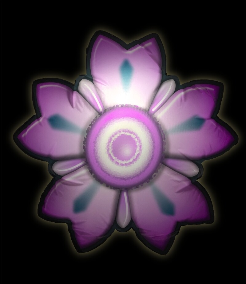 Hanging Inflatable Flower Lux 4.5ft/136cm x 4.5ft/136cm