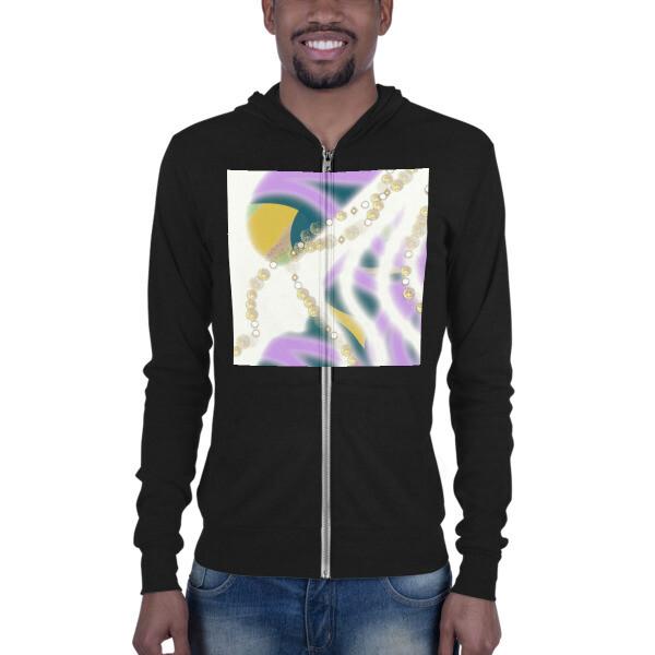 SERIPPY Unisex zip hoodie